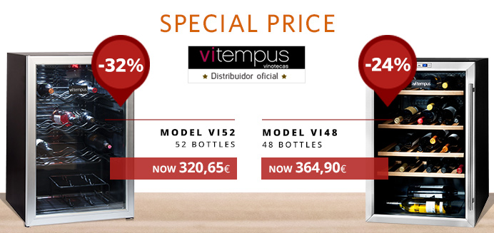 Vitempus wine coolers promo