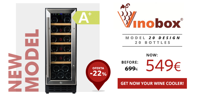 Vinobox 20 design wine cooler