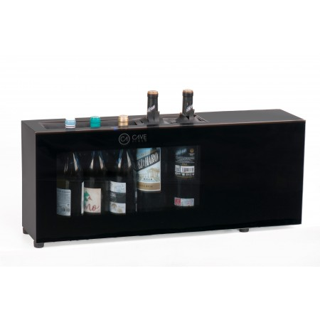Expositor de Barra 6 botellas Cavevinum CV-7C botellas