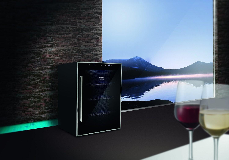 Vinoteca 12 botellas wineduett touch 12 doble temperatura - Vinoteca 2 temperaturas ...