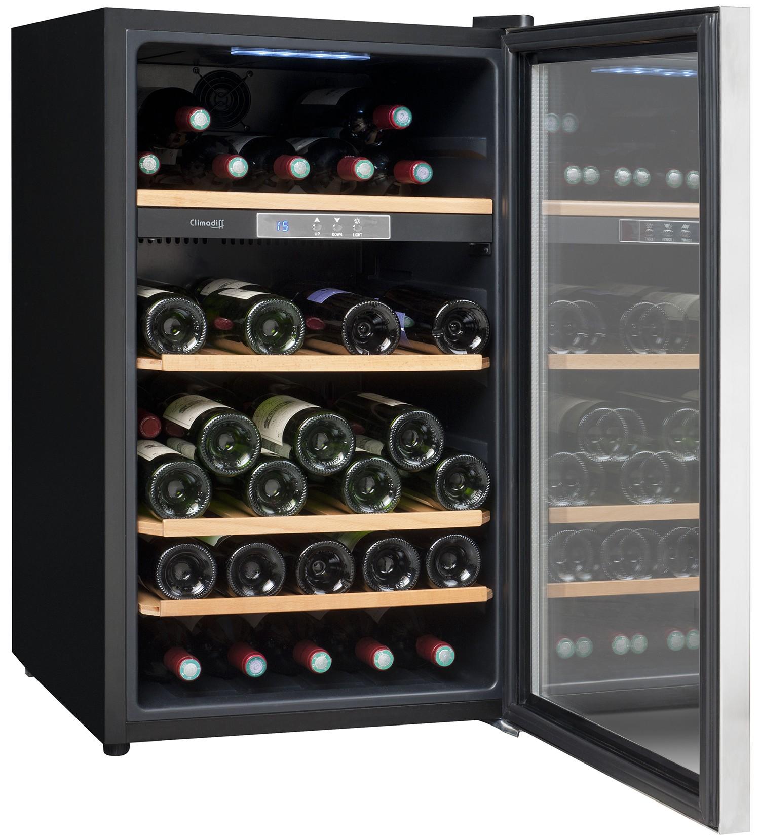 vinoteca 52 botellas cls52. Black Bedroom Furniture Sets. Home Design Ideas