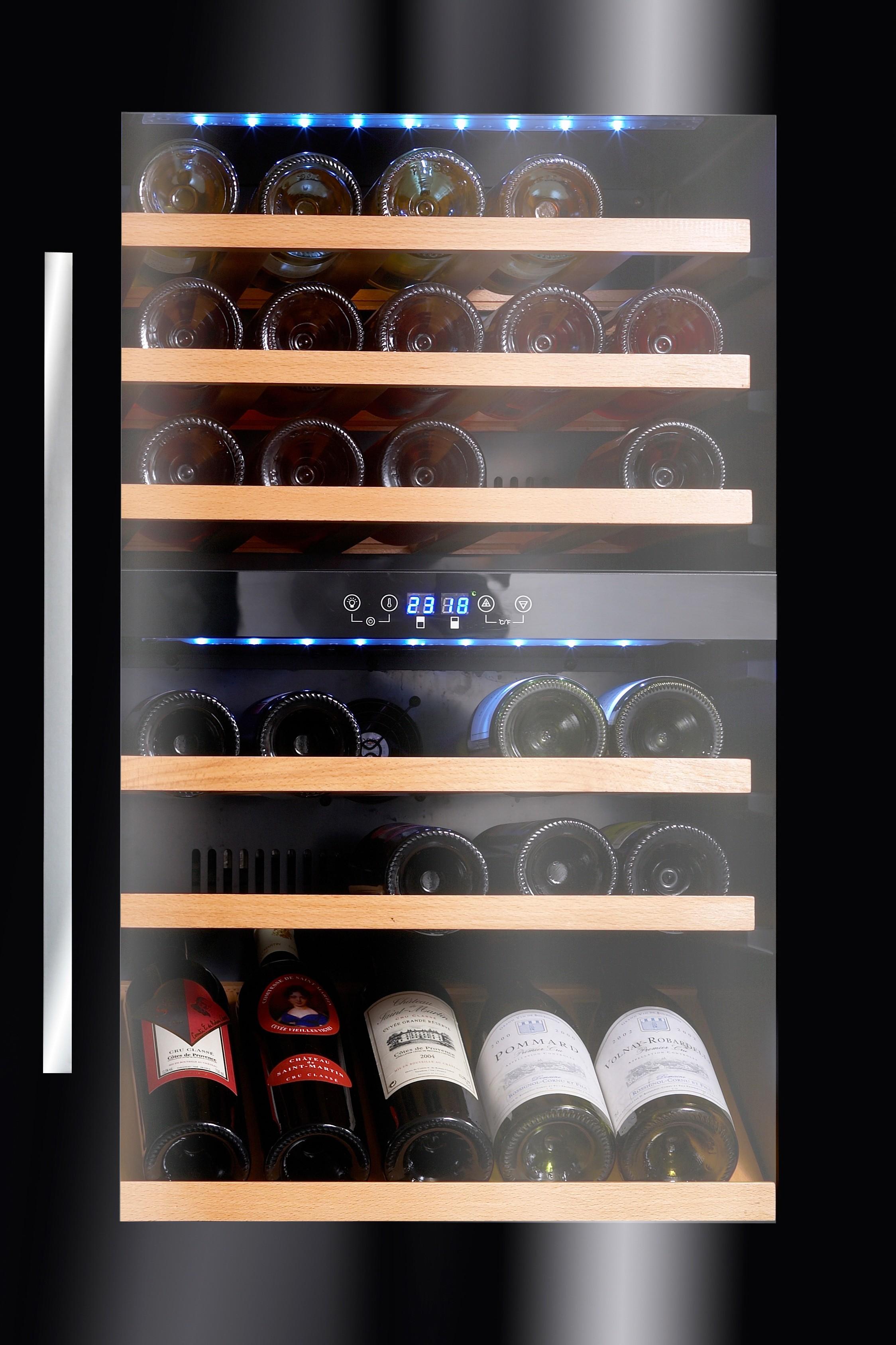 Vinoteca avintage 55 botellas av46cdzi 1 encastrable en - Diseno de vinotecas ...