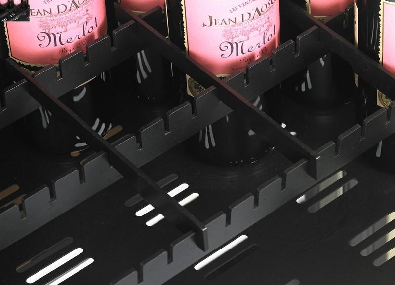 Vinoteca doble temperatura hasta 198 botellas dometic - Vinoteca 2 temperaturas ...