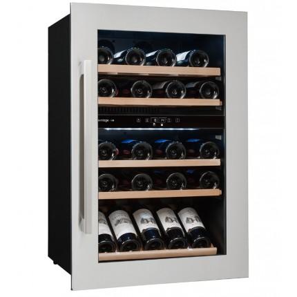 Vinoteca Avintage 52 botellas AVI47XDZ encastrable en columna doble zona temperatura