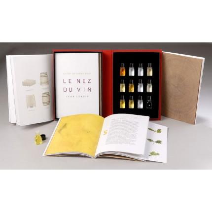 Libro 12 aromas La Barrica de Roble Nuevo Le Nez du Vin caja