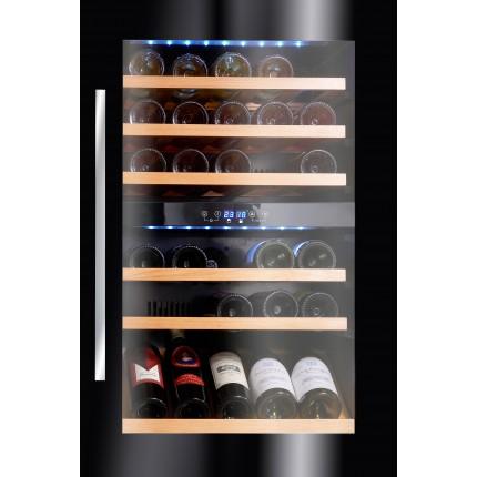 Vinoteca Avintage 55 botellas AV46CDZI/1 encastrable en columna doble zona temperatura