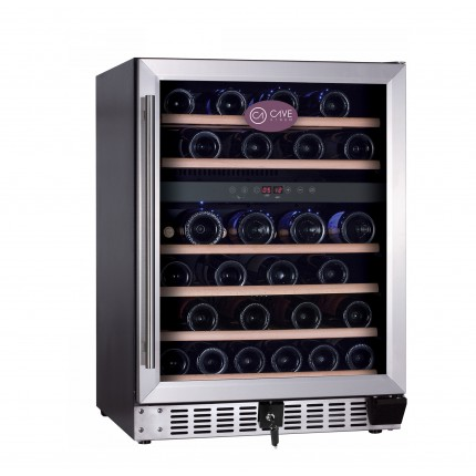 Vinoteca Cavevinum 46 botellas CV-462T INOX