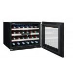Vinoteca 24 botellas Avintage AVI24 Premium lateral puerta abierta llena
