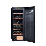 Vinoteca Avintage DVA265 PA+  Colección DIVA EVOLUTION con capacidad para 264 botellas abierta