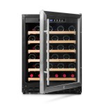 Vinoteca Vinobox 50 botellas 50GC 1T frontal abierta