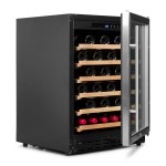 Vinoteca Vinobox 50 botellas 50GC 1T lateral abierta