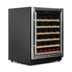 Vinoteca Vinobox 50 botellas 50GC 1T lateral cerrada