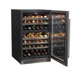vinoteca 72 botellas cavanova CV090DT abierta