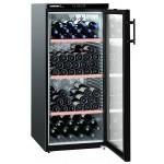 Vinoteca Liebherr WKB3212 1 Zona Negro 164 Botellas abierta