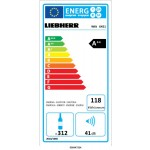 Vinoteca 312 Botellas Liebherr WKt 6451 eficiencia