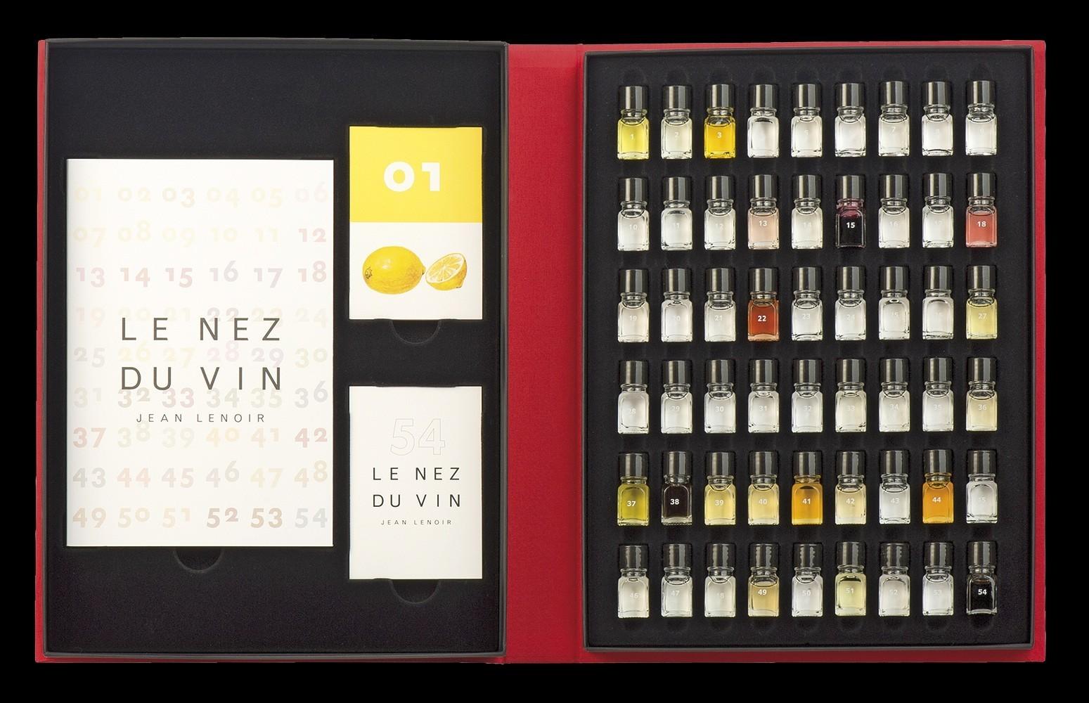 Le nez du vin 54 masterkit aromas vinoteca es wine cooler