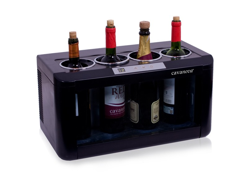 Horizontal wine cooler 4 bottles ow004 wine Wine cooler brands