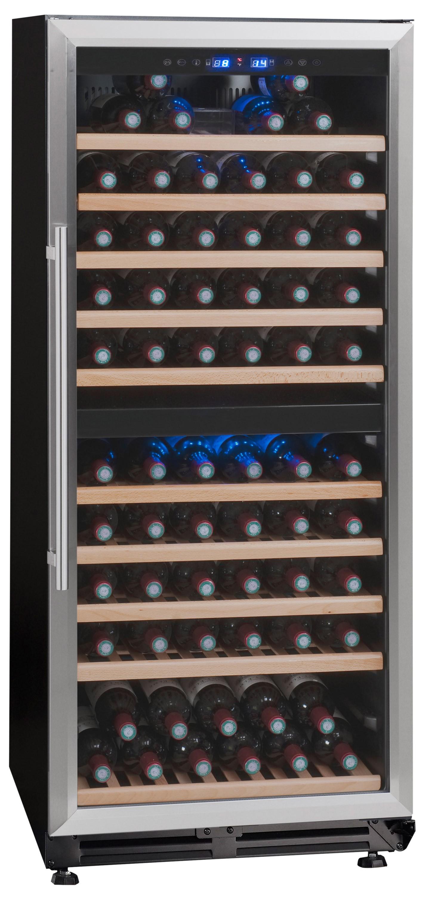 vinoteca 166 botellas tr2v121 doble zona temperatura wine cooler. Black Bedroom Furniture Sets. Home Design Ideas