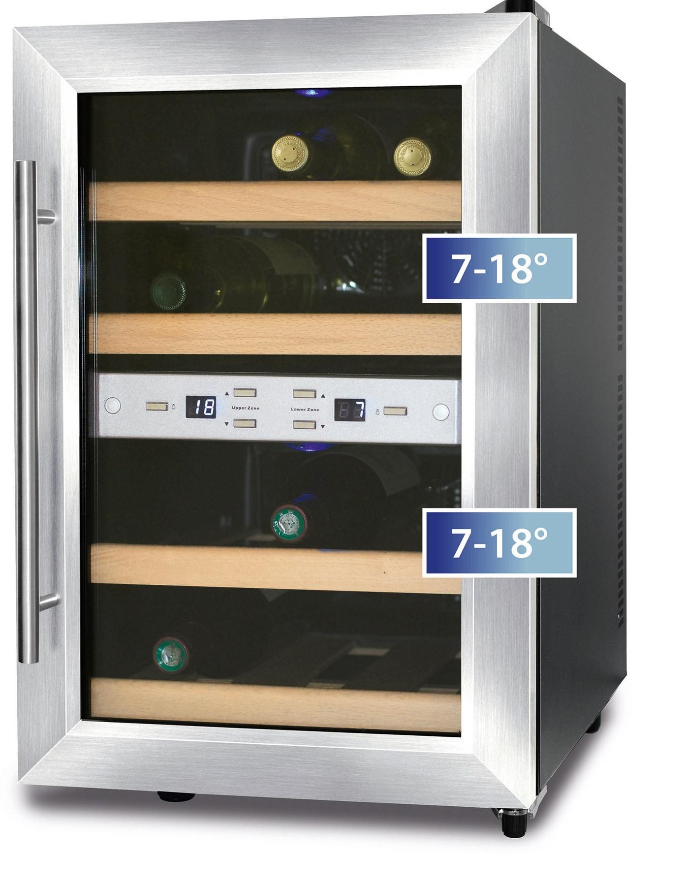 Wine Cooler 12 Bottles Wineduett 12 Dual Temperature