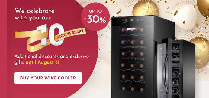 10 anniversary wine coolers