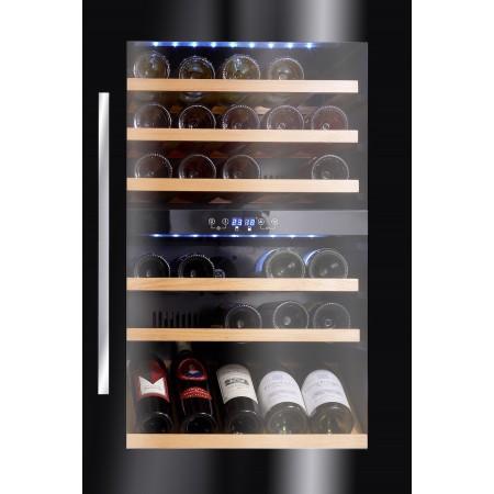 Vinoteca Avintage 52 botellas AVI48CDZ encastrable en columna doble zona temperatura