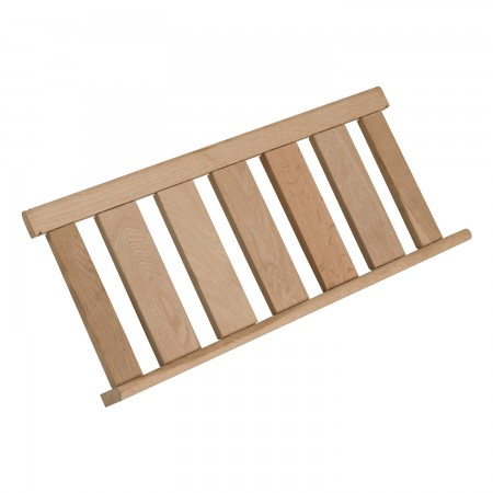 Bandeja de presentación corta de madera CLAVIP02