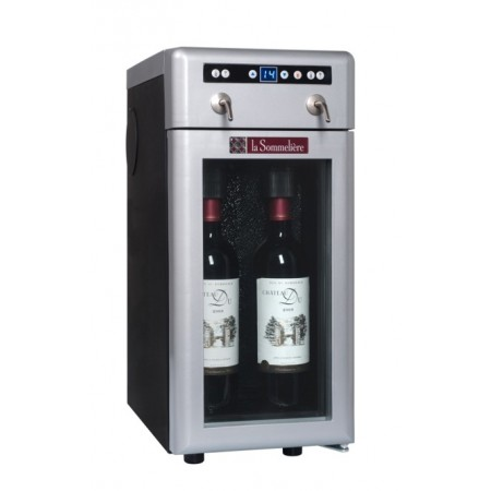 Dispensador de vino 2 botellas La Sommelière DVV22