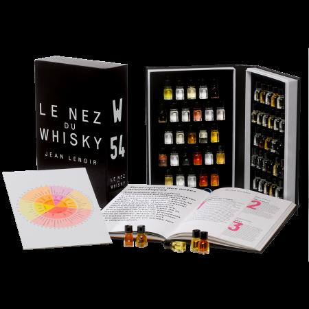 Libro 12 aromas Le Nez du Whisky detalle libro