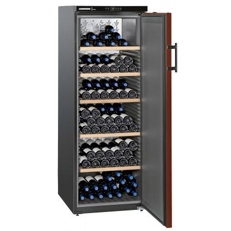 Vinoteca 200 botellas Liebherr WKr 4211 abierta