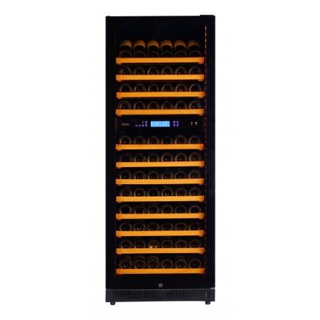 vinoteca-140-botellas-pevino-p120d-hhb negro mutitemperatura
