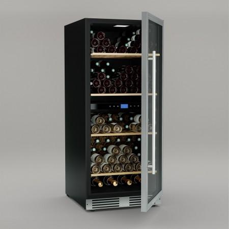 Vinoteca multitemperatura 149 botellas Cavist CAVIST149 abierta
