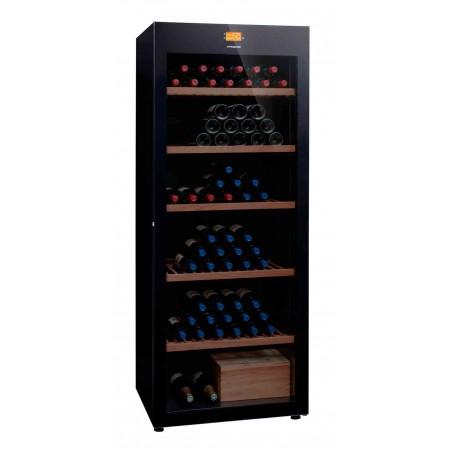 vinoteca 294 Botellas DVP305G Triple zona de temperatura-cerrada-botellas