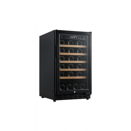 Vinoteca 37 botellas Vinobox 40GC 1T Encastrable Negra Cerrada