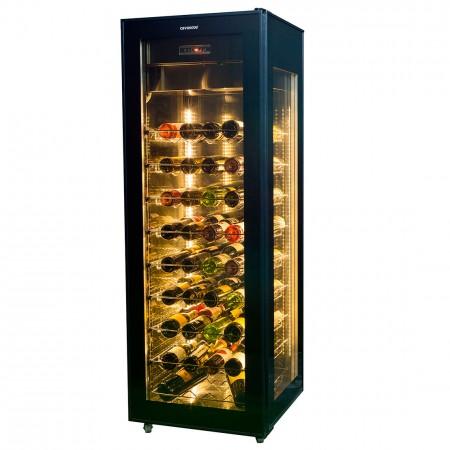 vinoteca 81 botellas cavanova CVVT400 cerrada