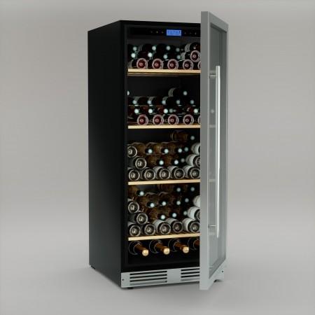 Vinoteca 160 botellas Cavist CAVIST160 llena abierta