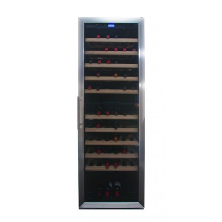 Vinoteca 200 botellas 200GC Inox