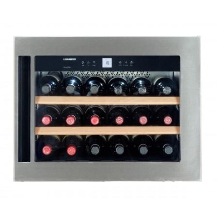 Vinoteca Liebherr WKEes553 GrandCru Inox 18 Botellas encastrable en columna cerrada