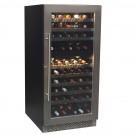 vinoteca 102 botellas cavanova CV120DT cerrada
