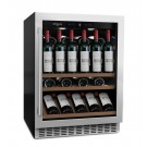 Vinoteca 46 botellas mQuvée WineCave 700 60SI lateral