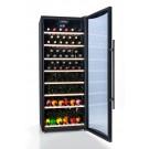 vinoteca 100 botellas cavanova TW100T abierta llena