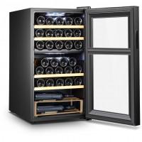 Vinoteca 33 botellas SLS33DZ doble zona temperatura