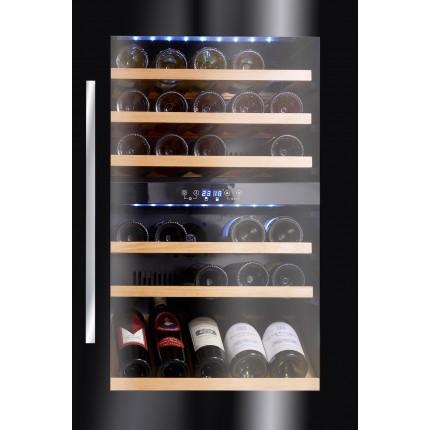 Vinoteca Avintage 52 botellas AVI48CDZA encastrable en columna doble zona temperatura