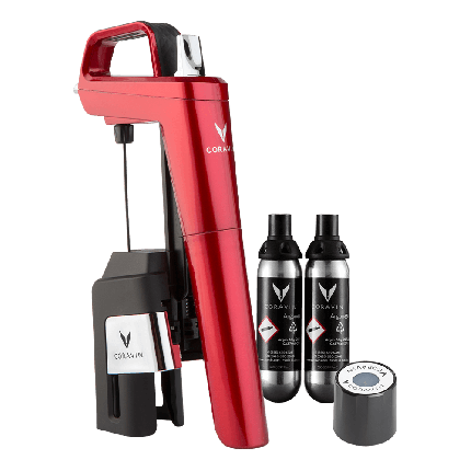 Coravin Model Six Core Candy Apple Red pack