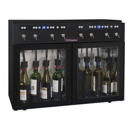 Dispensador de vino 8 botellas La Sommelière DVV8