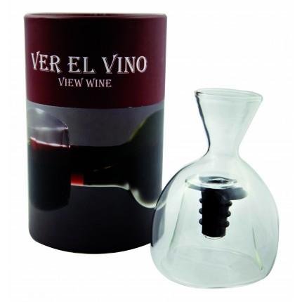 Decantador de Gollete Ver el Vino Caja Blanca ESP 502 N