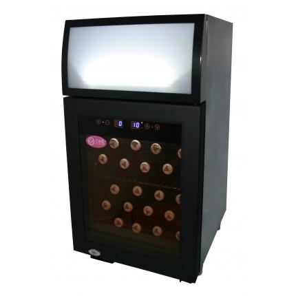 Mueble expositor de bebidas, vinos y cavas Cavevinum 25 litros CV-25