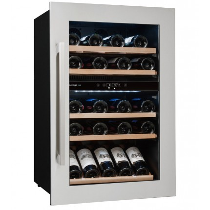 Vinoteca Avintage 52 botellas AVI47XDZA encastrable en columna doble zona temperatura