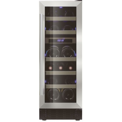 Vinoteca doble zona encastrable 16 botellas LB160 inox