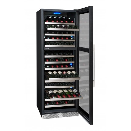 Vinoteca 161 botellas climadiff  PRO161XDZ abierta llena