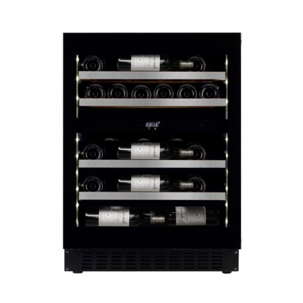 Vinoteca 31 botellas WineCave Exclusive 700 60D Fullglass Black